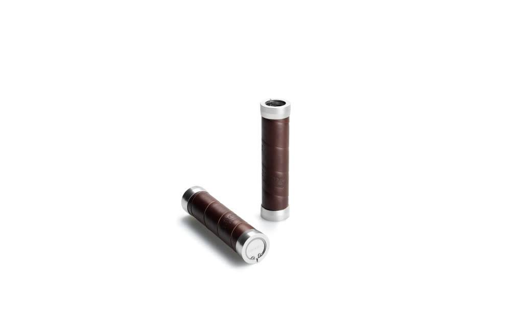 Brooks Slender Grips - Leather - Brown