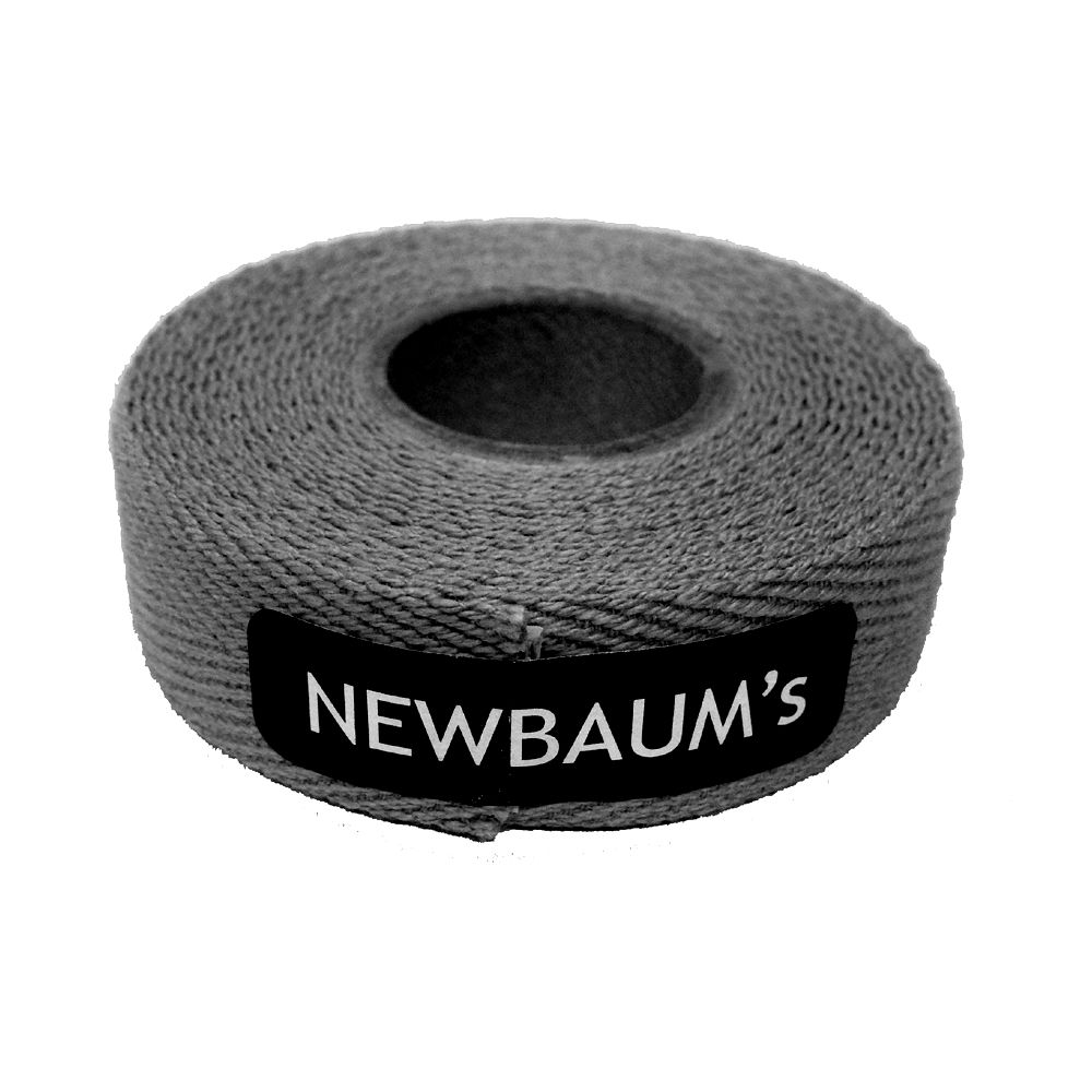 Newbaums Cotton Cloth Tape Dark Gray