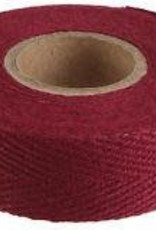 Cotton Cloth Tape Maroon