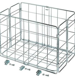 Wald Basket Rear Folding 582 Silver