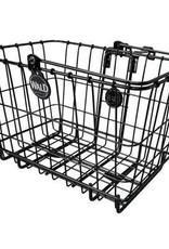 "Wald Basket/Rack Front Combo 3339 14.5"" x 9.5"" x 9"" Black"