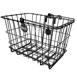 "Wald Basket/Rack Front Combo 3339 14.5"" x 9.5"" x 9"" Black"