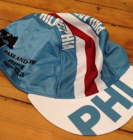 Philly cycling cap - blue