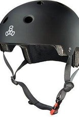 Triple 8 Helmet Brainsaver Black Rubber L/XL