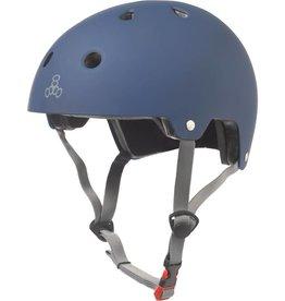 Triple 8 Helmet Brainsaver Blue Rubber L/XL
