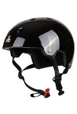 Triple 8 Helmet Brainsaver Gloss Black L/XL
