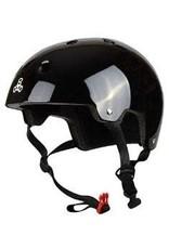 Triple 8 Helmet Brainsaver Gloss Black S/M