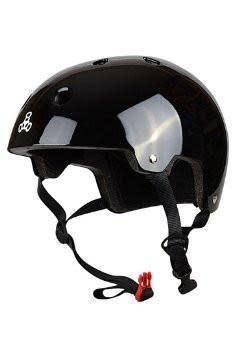 Triple 8 Helmet Brainsaver Gloss Black XS/S