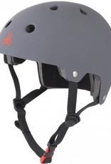Triple 8 Helmet Brainsaver Gray Rubber S/M
