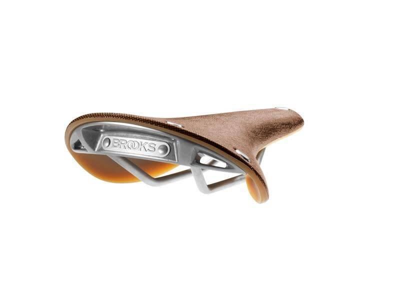 Brooks C17s Cambium Saddle - Rust
