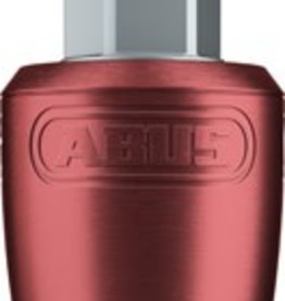 ABUS Wheel Lock Nutfix Solid Axle M10 Red each