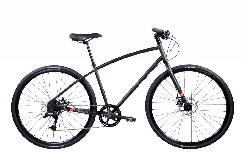 Pure Cycles Urban Wright 50/LG Matte Black