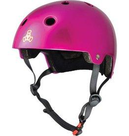 Triple 8 Helmet Brainsaver Metallic Pink L/XL