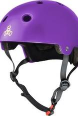 Triple 8 Helmet Brainsaver Purple Gloss L/XL