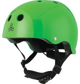Triple 8 Helmet Lil 8 Gloss Green