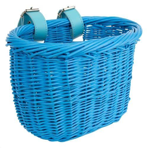 Basket Kids Wicker Blue