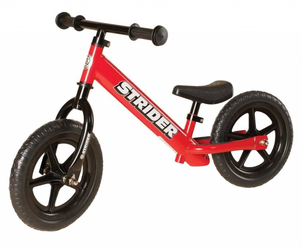 Strider Sports 12 Classic Balance Bike Red