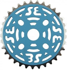 "SE BIKES Chainwheel 1pc 33T 1/8"" Blue"