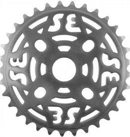 """SE BIKES Chainwheel 1pc 33T 1/8"""" Silver"""