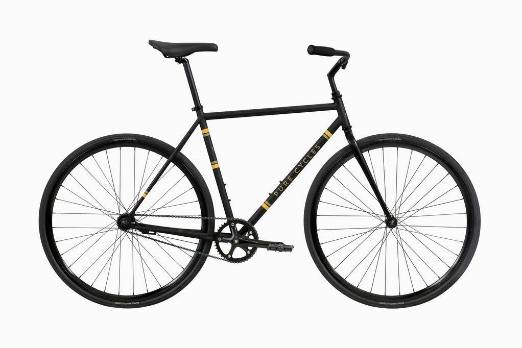 Pure Cycles Coaster Flatback MD Black/Yellow