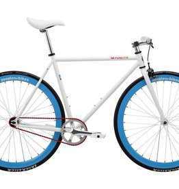 Pure Cycles Pure Fix People For Bikes 58/L White/Blue