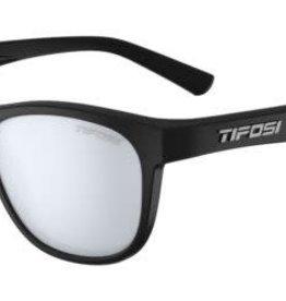 Tifosi Sunglasses Swank Satin Black/Smoke Blue