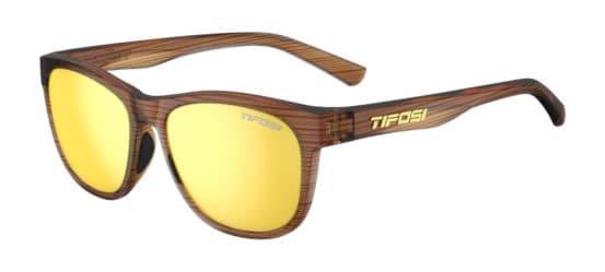 Tifosi Sunglasses Swank Woodgrain/Smoke Yellow
