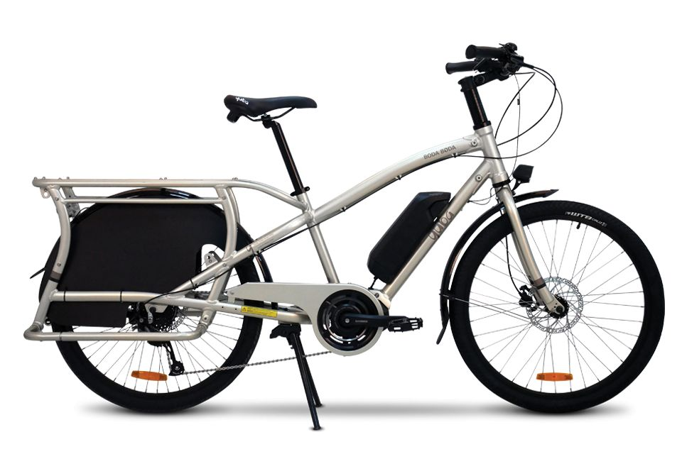 Yuba Bicycles Electric Boda Boda ST Sandstone