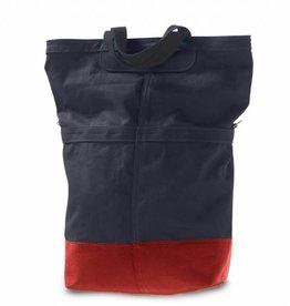 Linus Bikes Sac Rear Bag Navy/Red