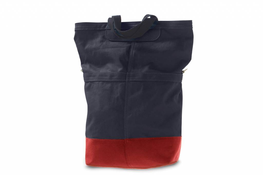 Linus Bikes Sac Rear Bag Navy/Red