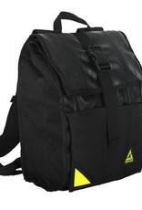 Green Guru Backpack Commuter Roll Top Black