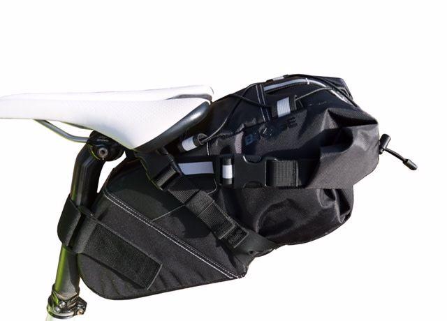 Bikase Seat Bag Packer Medium 550ci Black