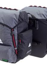 Axiom Panniers Seymour O-WEAVE Grey/Black 55L (pair)