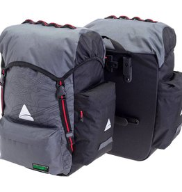 Panniers Seymour O-WEAVE Grey/Black 55L (pair)