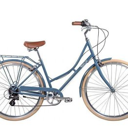 Pure Cycles City Laurel 8sp 43/S Grey Blue/White
