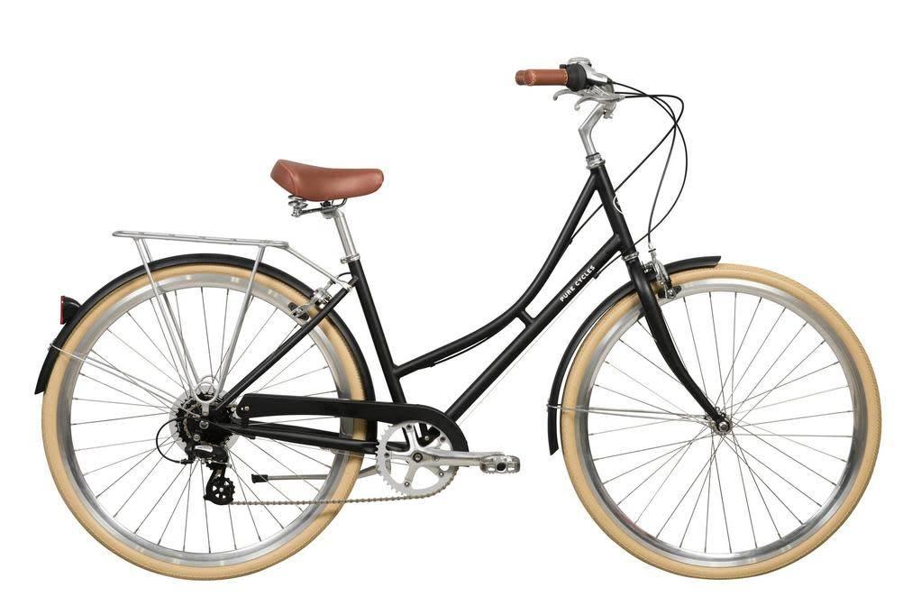 Pure Cycles City Elliot 8sp 43/S Black