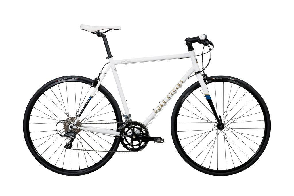 Pure Cycles Flat Bar Ray 56/L White
