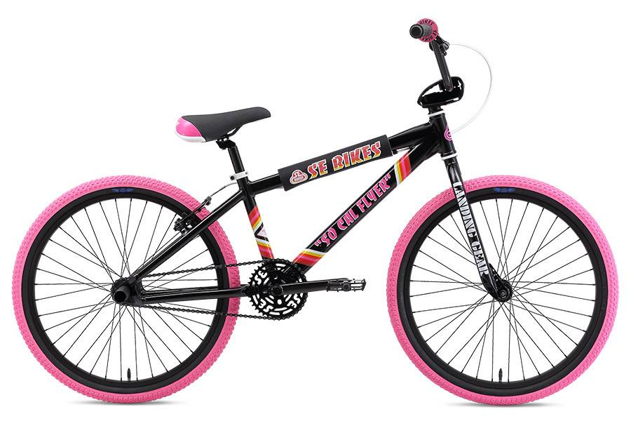 SE BIKES So Cal Flyer 24 Black/Pink
