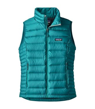 Patagonia W's Down Sweater Vest Elwha Blue S