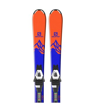 SALOMON SALOMON - QST MAX JR ORANGE/BLUE