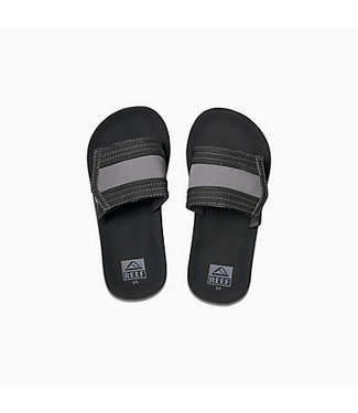 Reef Reef - Kids Ahi Slide Black