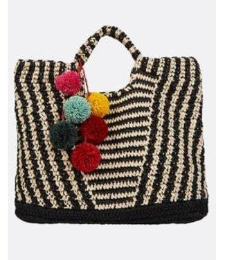 BILLABONG Billabong - Talk To The Palm Straw Tote Bag