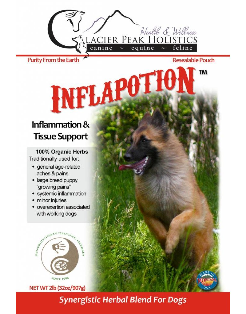 Glacier Peak Holistics Inflapotion Dog