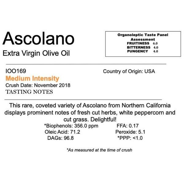 Delizia Northern Hemisphere Olive Oil Ascolano-CA