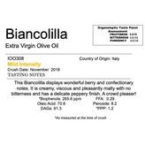 Delizia Northern Hemisphere Olive Oil Biancolilla-Italy