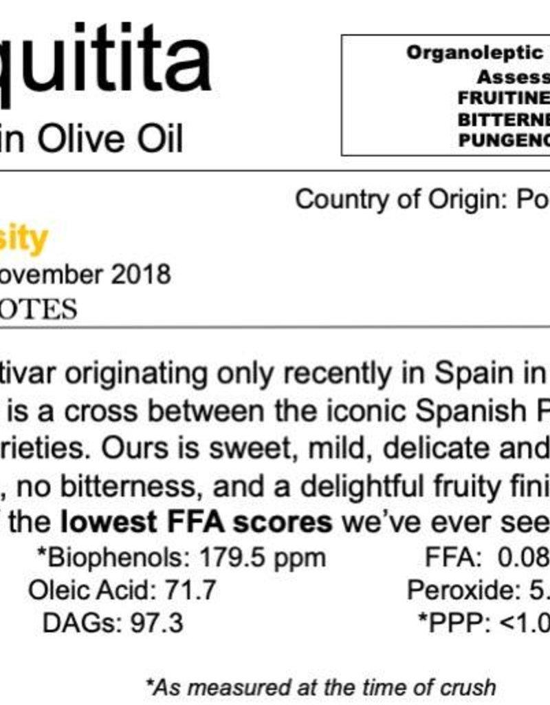 Northern Hemisphere Olive Oil Chiquitita-Portugal