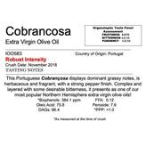 Delizia Northern Hemisphere Olive Oil Cobrançosa-Portugal
