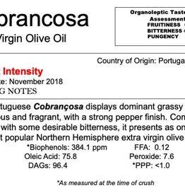 Northern Hemisphere Olive Oil Cobrançosa-Portugal