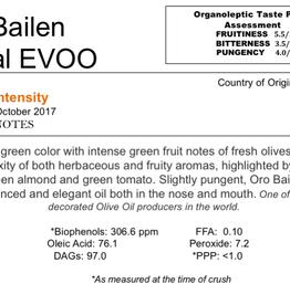 Northern Hemisphere Olive Oil Oro Bailen Picual-Spain