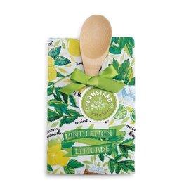 Mint Lemon Limeade Tea Towel and Spoon Set
